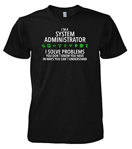 Geek System Administrator 702285 T-Shirt 001 L