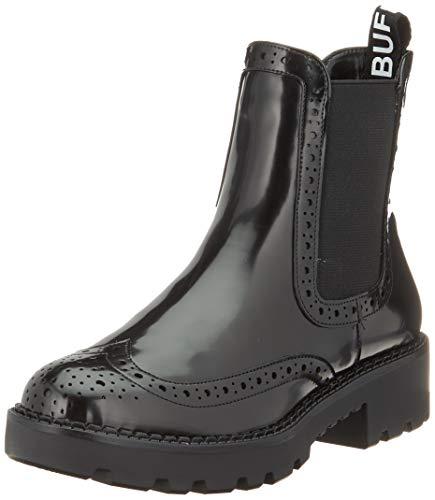 Buffalo Damen FINI Stiefeletten, Schwarz (Black 001), 39 EU