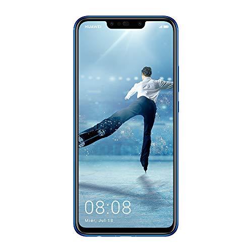 "Huawei P Smart Plus - Pack de Funda Transparente y Smartphone de 6.3"" (Octa-Core Kirin 710, RAM de 4 GB, Memoria de 64 GB, cámara de 16+2 MP, Android 8.1) Color púrpura"