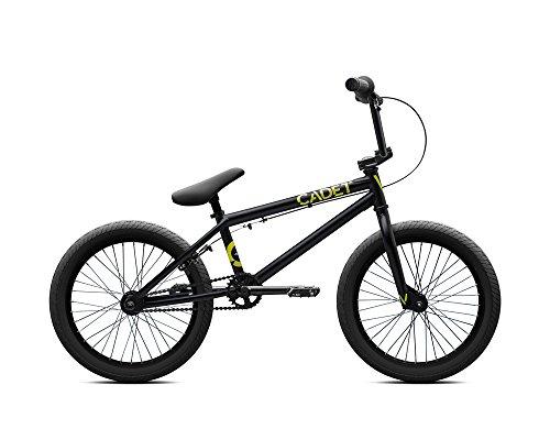 """Verde Cadet 18"""" Kinder BMX Rad 2017 matte black"""