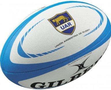 Balón de rugby Gilbert de Argentina (réplica) tamaño 5