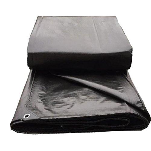 Stark,Quadratmeter Schwarze Plane Polyethylen Regen Tuch wasserdicht Sonnenschutz Plane klebrige Dampf LKW Plane Leinwand, Dicke 0,4 mm, 200 g/m2, Wahl von 11 Größen (Farbe : 2m*3m)