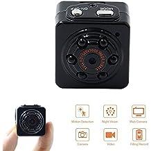 Camara Espia Spy Cam Mini Camara Oculta 1080P HD TANGMI Detección de Movimiento Portátil Videocámara de Video Vigilancia Visión Nocturna por Infrarrojos Grabación en Bucle