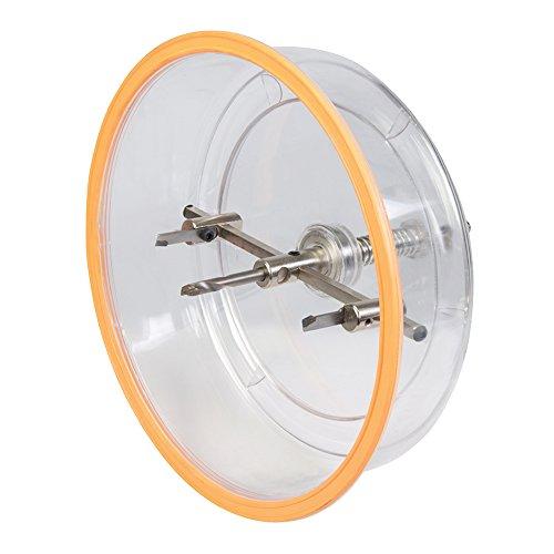 Kreis-Lochschneider mit Schutzhaube verstellbar 40 - 200 mm