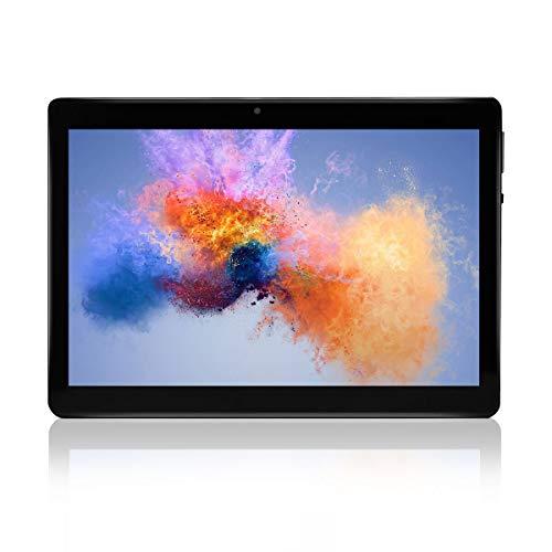 Tablet da 10 pollici, con processore a otto core,Android 7.0 WIFI, navigazione, Bluetooth, 4GB di RAM 64 GB di memoria, Dual SIM 3G, è anche un cellulare (nero)