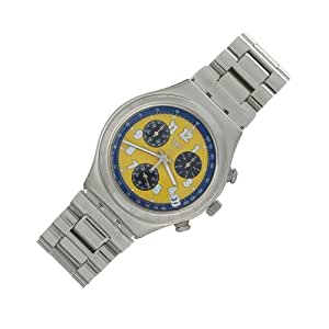 Swatch - YCS406G Secret Agent Yellow Flip EU - Quartz - Mixte