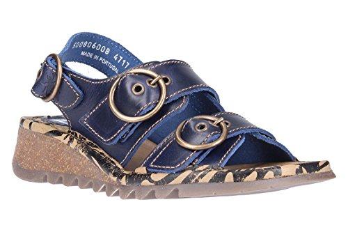 FLY London Sandalen P500806008 Marineblau