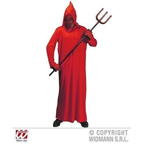 Lively Moments Einfaches Kinderkostüm Teufel / Teufelkostüm / Halloweenkostüm für Kinder mit Kapuze und Maske Gr. 158