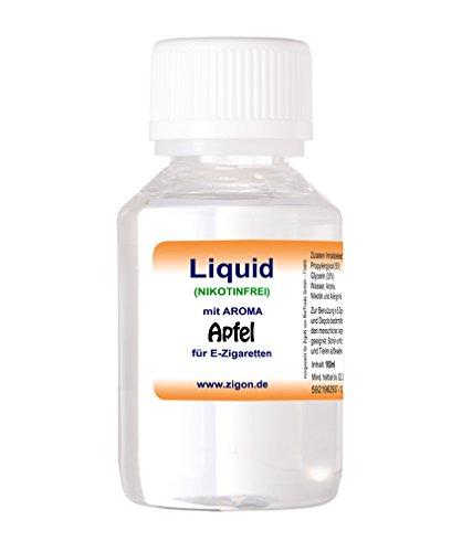 100 ml APFEL ZigoN E-Liquid – MADE IN GERMANY – mit Nikotin 0,0mg – APFEL