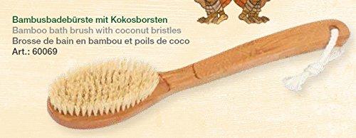 Brosse en bois bambou avec denture coco