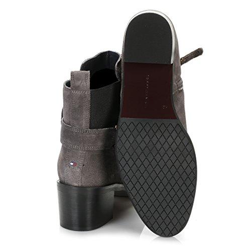 Tommy Hilfiger Donna Magnet Grigio 1B Ankle Stivali Magnet