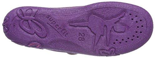 Superfit Belinda, Chaussons fille Violet - Violett (Berry 36)