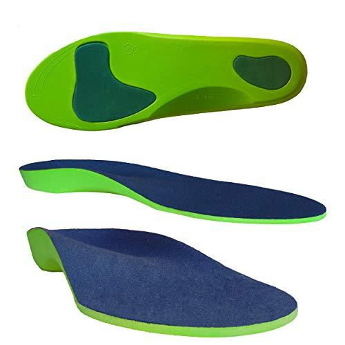 Columbia-Island Orthopädische Einlegesohle/Schuhsohlen / Schuheinlage Größe XL 46-48 Sport-Einlegesohlen Einlagen - Fersen - Fußballen Unterstützung Arbeitsschuhe