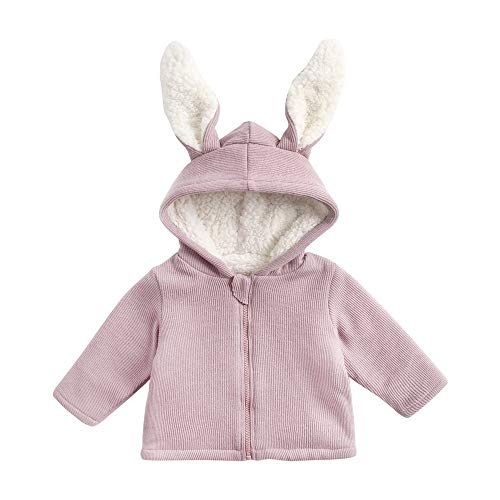 BeautyTop Baby Kinder Jungen Wintermantel mit Kapuze Steppjacke Winter Herbst Hooded Oberbekleidung Warm Fleece Duffle Mantel Hooded Duffle Coat