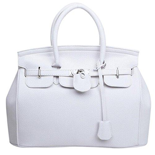YOUBan Damen Handtasche Kapazität Leder Tasche Frauen Schultertasche Einfach Größer Rucksäcke Handtasche Umhängetasche Lederhandtaschen