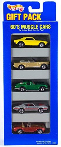 Hot Wheels Gift Pack 60 's Muscle Cars
