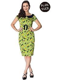de9bd34ab8e Banned Plus Size Vintage Hat Fifties 50s Retro Wiggle Dress