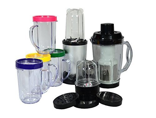 Vitamin Bullet 17 Piece Automatic Magic Multi Blender Lowest Price Best Quality Grinder, Nutri Blender, Processor, Chopper, Mixer, Juicer, Grater and for Purees by Premsons  available at amazon for Rs.1999