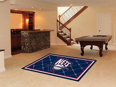 Fanmats 09339–NBA New Jersey Nets 5x 8Tapis