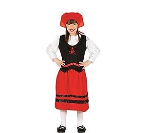 Guirma-42754 Traje pastorcita 1-2 años pañuelo+Camisa+faldaa, Multicolor (42754)