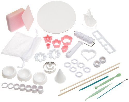 Wilton Gum Paste and Fondant Student Kit- Discontinued By Manufacturer by Wilton -