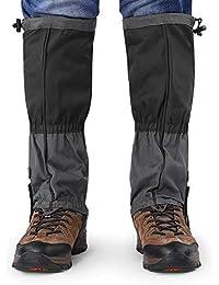 Alomejor 1 par de Botas de Nieve Leggings Polainas Impermeables de Invierno Cubierta de Zapatos Deportivos