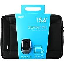 """Acer NOTEBOOK STARTER KIT 15.6"""" 15.6"""" Maletín Negro - Funda (39,6 cm (15.6""""), Maletín, Negro)"""