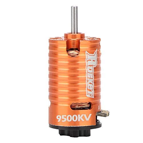 VGEBY1 RC Motor, Mini-Z 2 Pole 3 Slot Micro 9500KV Brushless Motor für 1/24 1/28 RC Boot Modell Spielzeug DIY