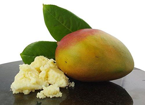Mangobutter - 1kg - Kosmetikprodukt - 100% rein und natürlich (Scrub Butter Vorteil)