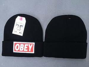 Obey Beanie (schwarz)