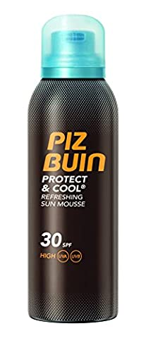 PIZ BUIN Protect & Cool Refreshing Sun Mousse LSF 30