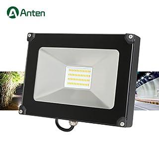 Anten Strahler 30W LED Fluter 2800-3200K warmweiß 2400LM led Scheinwerfer220V Außerleucht IP65 WasserdichtArbeitsscheinwerfer