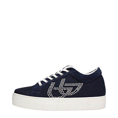 Blu Byblos 662404 Sneakers Donna Tessuto Blu Blu 36