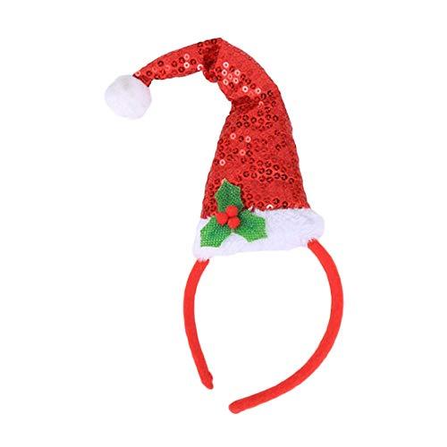 ead Boppers, Weihnachtsmütze Stirnband, Headwear Hair Party Weihnachten Halloween, Xmas Stirnbänder ()