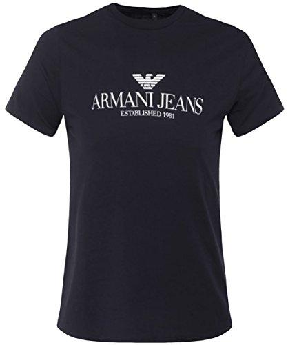 Armani Jeans Stampa t-shirt Nero XL