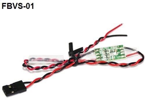 FrSky Battery Voltage Sensor - FrSky Telemetry System - FBVS-01 - orangeRX  -uk