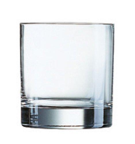 Luminarc Islande - Set de 3 vasos bajos, 38 cl