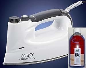 euro professional dampfb geleisen inkl maxagol entkalker basis edelstahl 6 bars