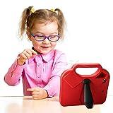 Mini iPad 1234Griff Fällen für Kinder, stoßfest fallgeschützt Schutz strapazierfähigem Eva-Schaum Kinder Fall Cover schützende Sonnenbrille Ständer Fall w/Tragegriff für Apple Tablet