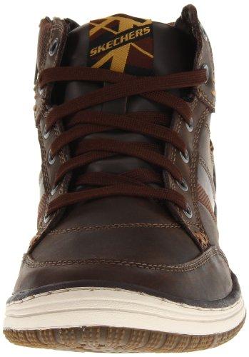 Skechers WezenLuray 63412, Stivaletti uomo Marrone (Braun (CHOC))