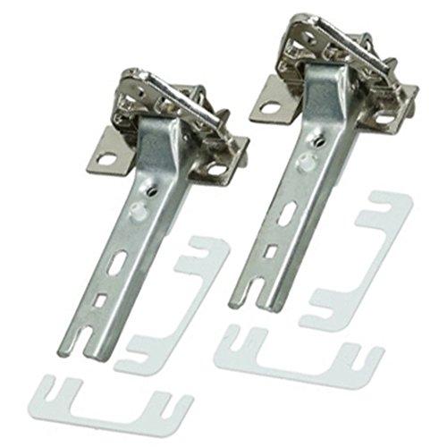 spares2go integrierte Tür Scharnier für AEG Kühlschrank mit Gefrierfach (Paar Scharnier)