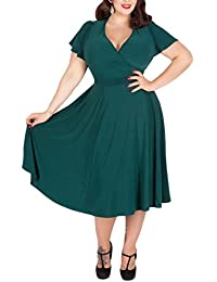 b83d94e135 Suchergebnis auf Amazon.de für  52 oder 54 - Kleider   Damen  Bekleidung