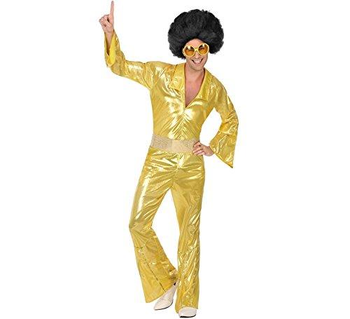 Atosa Disfraz Disco Dorado para Hombre