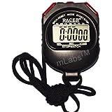 mLabs Plastic Digital Stop Watch