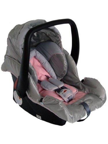 Babyschale Protect von UNITED-KIDS, Ligthgrey, Gruppe 0+, 0-13 kg