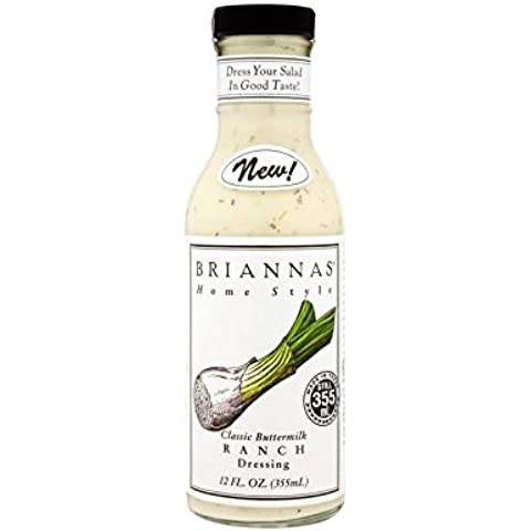Briannas Ranch Dressing 355Ml - Confezione da 2