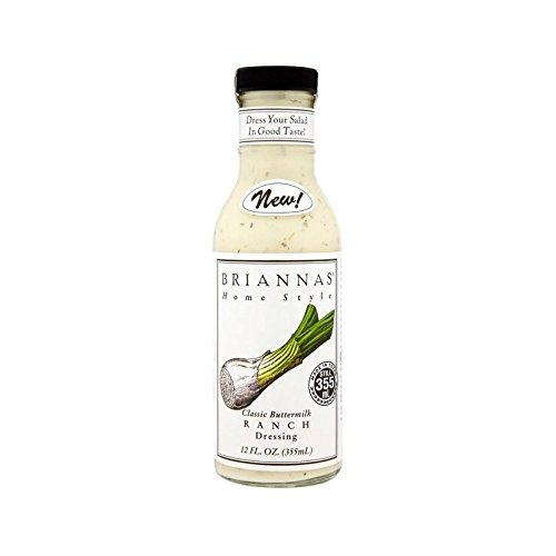 Briannas Ranch Dressing 355Ml