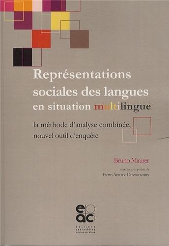 Représentations Sociales des Langues en Situation Multilingue