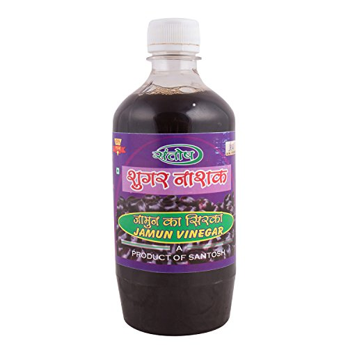 Khadi india(Bharat) Jamun Vinegar, Prepaired in Earthen Pot, 500 ml