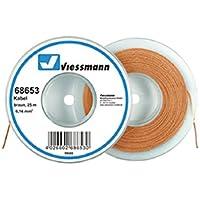 VIESSMANN 68653 Kabelring, Litze, 25m, 0,14 mm² braun